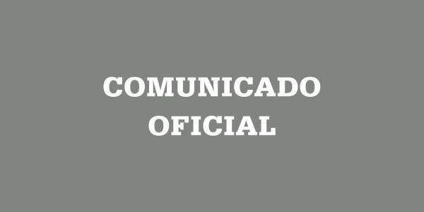 Comunicado Oficial: Colegiatura octubre