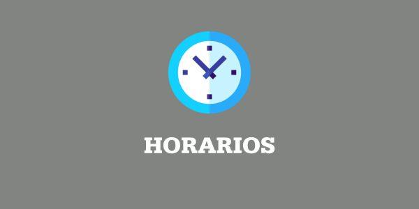 Horarios de Clases remotas para el Período de Cuarentena
