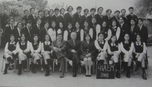 2001 - IV° Medio A