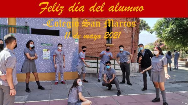 """Saludo por el """"Día del alumno"""""""