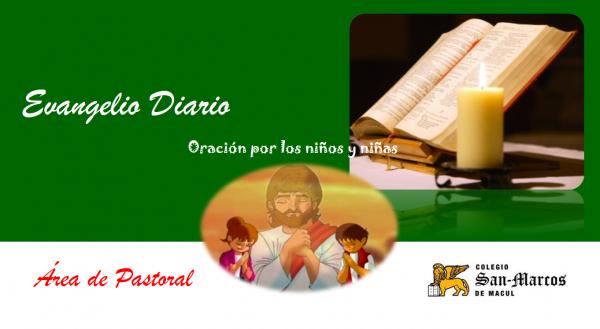 Oración por el Día del Niño y Oraciones Semana del 9 al 13 de agosto